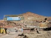 Entrée du Cerro Rico, Potosi
