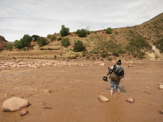 Victor à l'assaut de la rivière