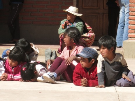 Enfants à Potolo