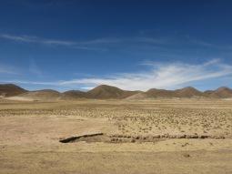 L'Altiplano aux environs de La Paz