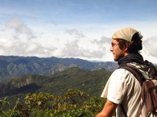 Les Yungas près de Mairana
