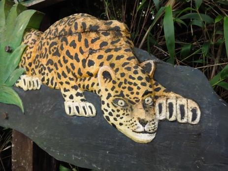 Frayeur de Caroline tout au long de la route, le jaguar ne s'est jamais montré!