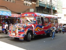Un bus à La Paz