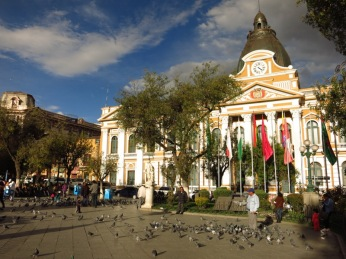 La Paz, Place Pedro Domingo Murillo