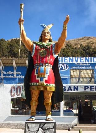 L'Inca nous souhaite la bienvenue