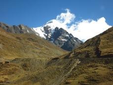 Le Salcantay, sur la route du Machu Picchu