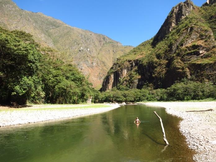 Sur le chemin du Machu Picchu