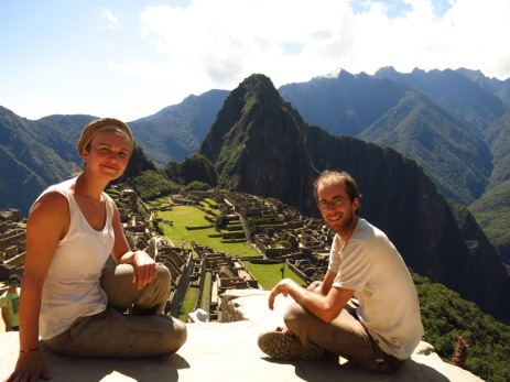 Caroline et Grégory au Machu Picchu