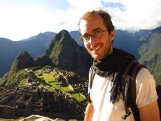 Grégory au Machu Picchu