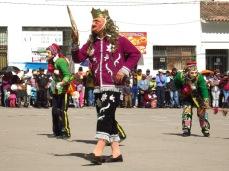 Fête traditionnelle à Calca