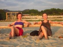 Anouk et Caro à Canoa