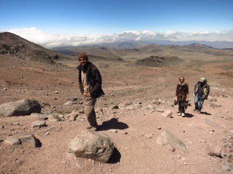 Ascension du Chimborazo