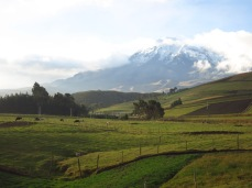 Descente à vélo du Chimborazo