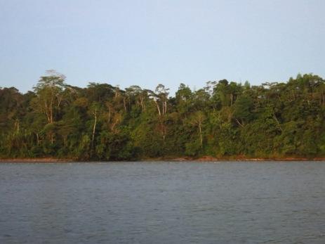 Berge du Rio Napo