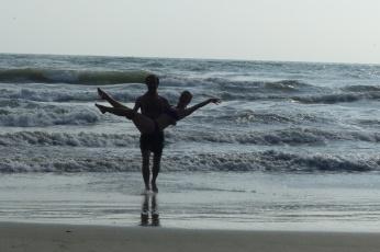 Caro et Greg dans le Pacifique