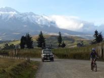 Desecente à vélo du Chimborazo