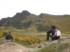 Lagune Mojanda