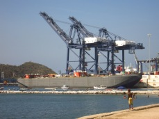 Santa Marta, le port