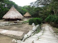 Village Kogi, parc Tayrona
