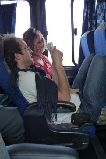 Dans le bus