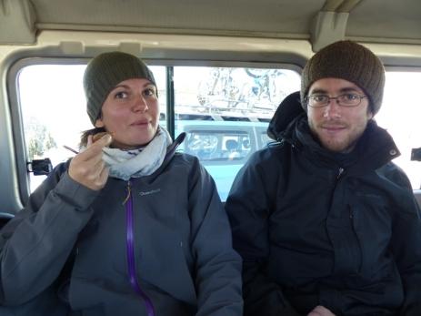 En route pour le Chimborazo