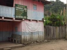 Junin - Entrée du village