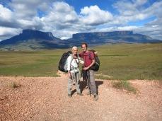 Caro et Greg devant les tepuys