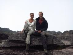 Arrivée en haut du Roraima