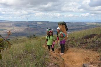 Porteuses dans la Gran Sabana