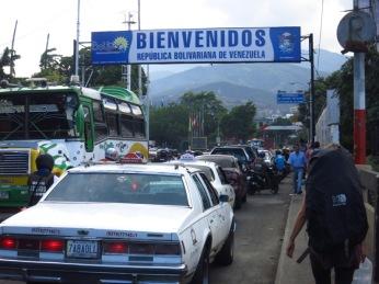 Frontière Venezuela-Colombie