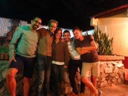 Chez Eduardo et Carlos à Mérida, nos h^tes en Couchsurfing