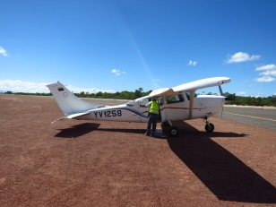Direction Canaima, accessible qu'en Cessna