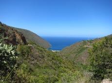 Vue sur la crique de Puerto Cruz