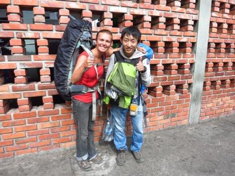 Nous avions rencontré Kengo au Salto Angel