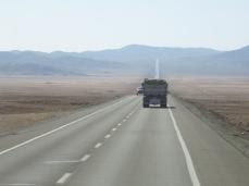 Sur la route n°5 au nord du Chili
